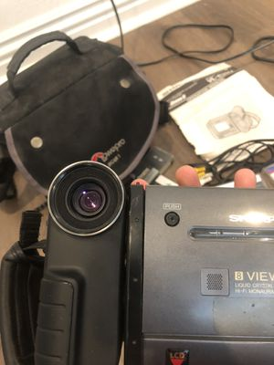 Sharp 8 Viewcam Camcorder VL-E35U + LOTS Of Accessories Works Great BUNDLE Rare for Sale in Cerritos, CA