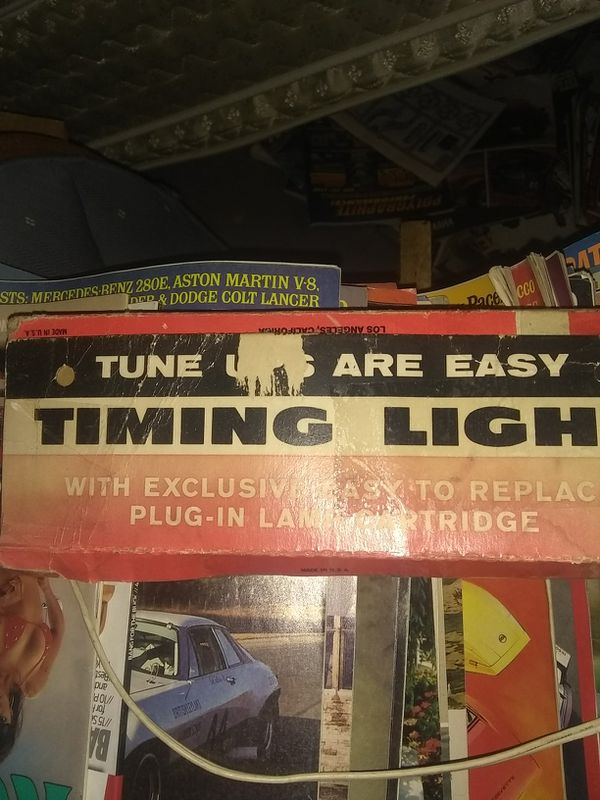 Vintage timing light,good display piece,works too!