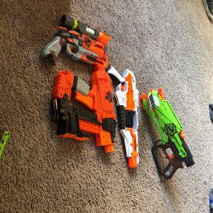 Nerf Guns Lot PLS BUY for Sale in Oakdale, CA