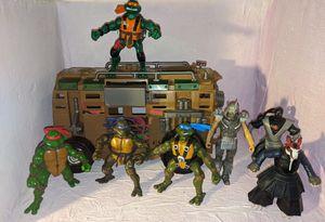 Teenage Mutant Ninja Turtles Action figures Lot Vehicle TMNT for Sale in Beaverton, OR
