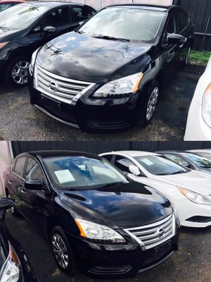 2014 Nissan Sentra low down 1,000$ for Sale in Houston, TX