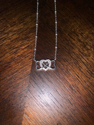 Three Heart Sterling Silver Necklace for Sale in Gainesville, VA
