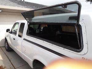 White camper shell small truck for Sale in Sacramento, CA