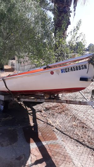 Lido 13 ft sailboat and trailer for Sale in Menifee, CA