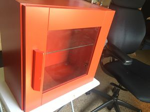 Red IKEA Cabinet for Sale in Laveen Village, AZ