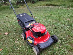 Troy bilt lawn mower with bag mint for Sale in Bensalem, PA
