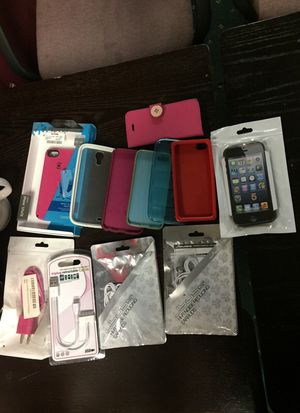 Phone covers, ear plugs, chargers $10 for Sale in Jersey City, NJ