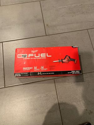 M18 Fuel Hackzall Milwaukee for Sale in Chino Hills, CA