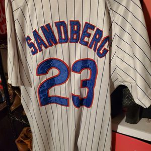 Chicago CUBS RYAN SANDBERG baseball Jersey MAJESTIC size 52 XXL For $30 for Sale in Clovis, CA