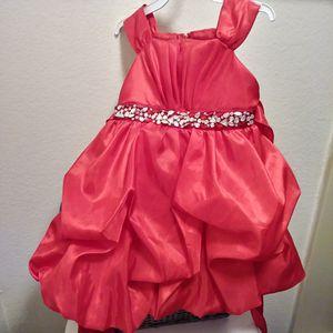 Beautiful RED SATIN & Jewel trim DRESS-$10 for Sale in Glendale, AZ