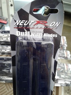 Dual windshield wiper blades neutron motorsports for Sale in Phoenix, AZ