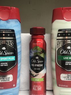 OLD SPICE BODY WASHES AND DEODORANT for Sale in Los Angeles,  CA