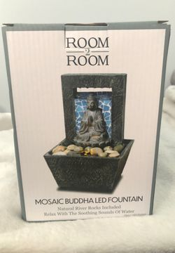 Mosaid Buddha LED Fountain for Sale in Bowie,  MD