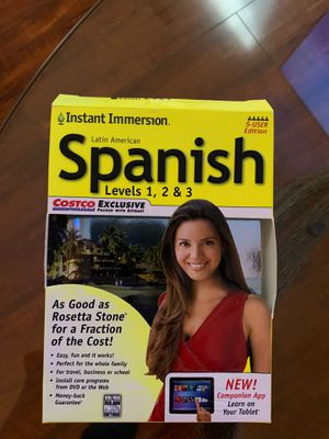 Learn Spanish Levels 123 for Sale in Charlotte, NC
