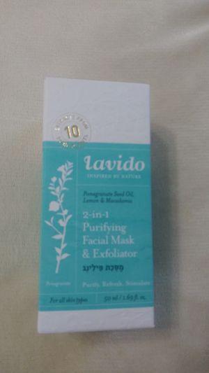 Lavido 2 in 1 Purifying Facial Mask & Exfoliator for Sale in Sacramento, CA