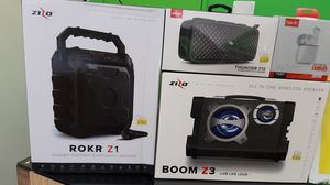 ZIZO SPEAKERS from $49 for Sale in Garland, TX