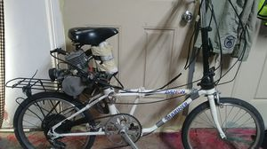 Dahon moterized fold up bike for Sale in Las Vegas, NV