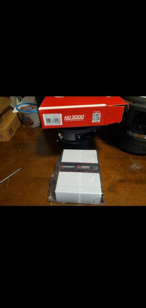 TARAMPS HD3000 1 OHM PERFECT FOR CHUCHERO BOXES OR SUBWOOFERS AND MORE for Sale in The Bronx, NY