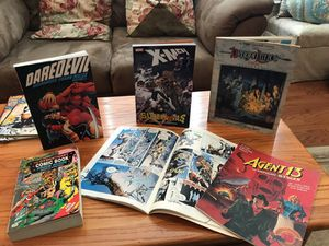 Assortment of comic X-Men &Dragon Lance Books for Sale in Gainesville, VA