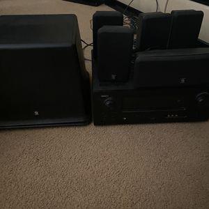 Denon surround sound system for Sale in Santa Maria, CA