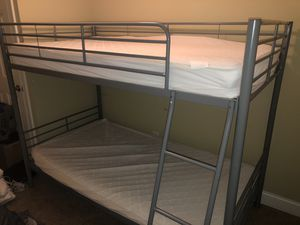 Bunk Bed with mattresses for Sale in Franklin, TN