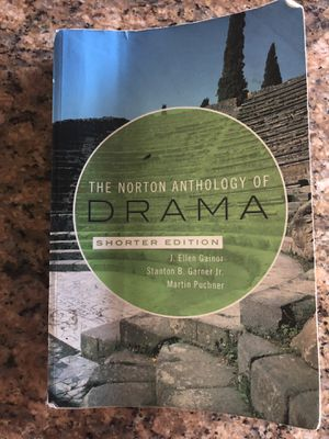The Norton Anthology of Drama for Sale in Fontana, CA