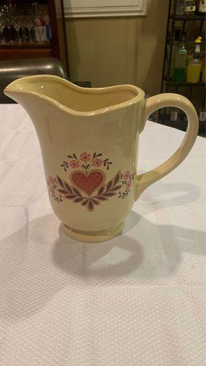 Flower vase water jug ceramic decor for Sale in Moreno Valley, CA