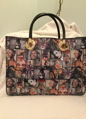 Paten leather tote bag for Sale in Mesquite, TX