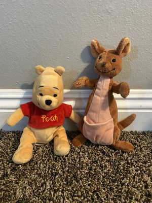 Winnie the Pooh Bear and Roo Stuffed Animal toys for Sale in Stanton, CA