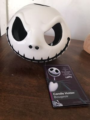 Nightmare before Christmas jack sellington candle for Sale in Beverly Hills, CA