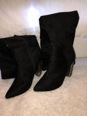 Black knee high boots/size 8 for Sale in East Wenatchee, WA