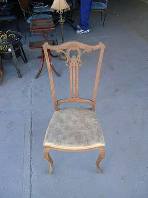 Antique wood chair for Sale in Palmdale, CA