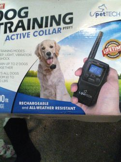 PetTECH Dog Training Active Collar for Sale in Glendale,  AZ