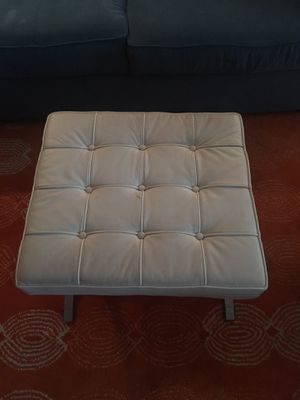 Leather ottoman for Sale in New York, NY