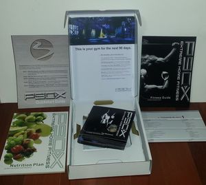 Used, P90X Home Fitness The work out Complete DVD set for Sale for sale  Decatur, GA