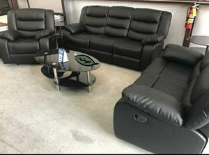 🍻$39 Down Payment 💥  GT Black Reclining Living Room Set | U9600 for Sale in Jessup, MD