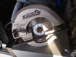 Craftsman skillsaw for Sale in Oklahoma City, OK