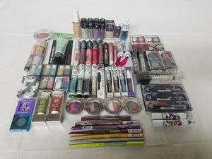 Lot of 50 HARD CANDY Cosmetics Eye Lip Nail Face Makeup Wholesale Resale Mixed No Duplicates! for Sale in Jacksonville, FL