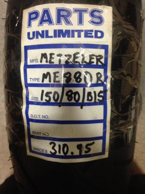 Tire 150/80/15 rear metzeler new for Sale in Baldwin Park, CA
