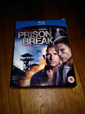 Prison Break Blu-ray Box Set for Sale in Kingsport, TN