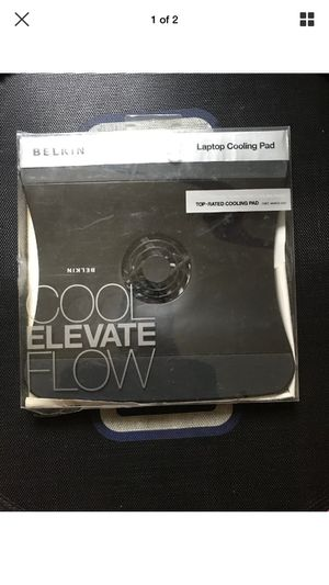 New Belkin F5L001-BLK Laptop/Notebook Cooling Pad Cool Elevate Flow - US Seller for Sale in Fairfax, VA