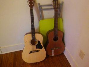Vinci & Washburn guitars for sale for Sale in Portsmouth, VA