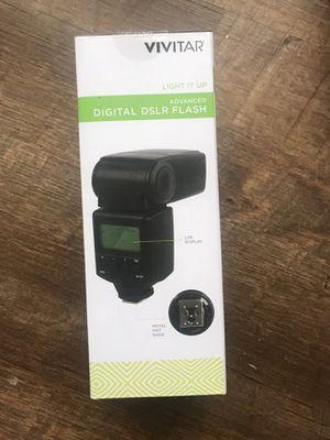 Vivitar Advanced Digital flash for Sale in Dallas, TX