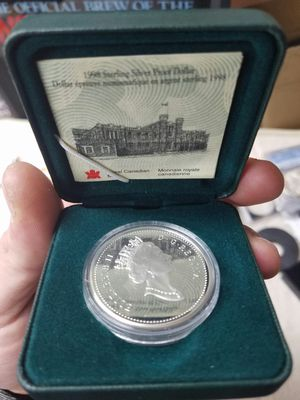 1998 silver proof dollar for Sale in Howell Township, NJ