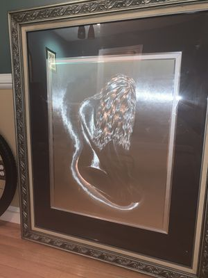 Optical Illusionary Art of Nude Woman for Sale in Adelphi, MD