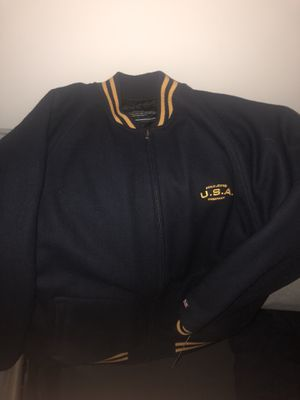 Polo jeans varsity jacket for Sale in Hyattsville, MD