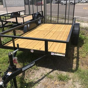 5x10 Utility trailer 2019 for Sale in Tampa, FL