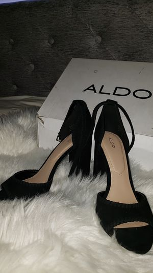 ALDO BLACK HEELS for Sale in Phoenix, AZ