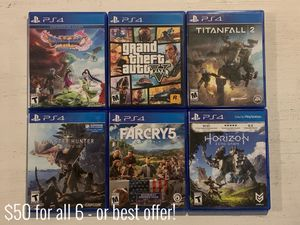 PlayStation 4 Video Games for Sale in Cornelius, NC