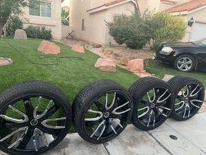 """22"""" Rims and Tires for Sale in North Las Vegas, NV"""